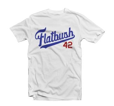 stickup_flatbush_white_tee